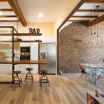 Cosa non può mancare in una cucina in stile industriale