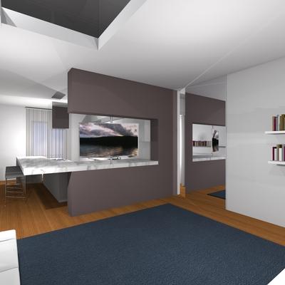 ristrutturazione di un appartamento in Frignano