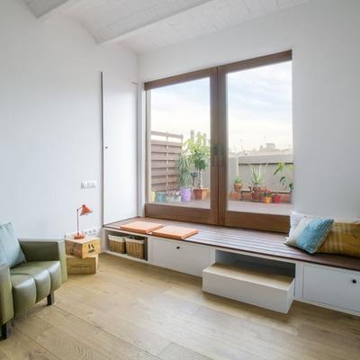 La sorprendente ristrutturazione di una casa lunga e stretta