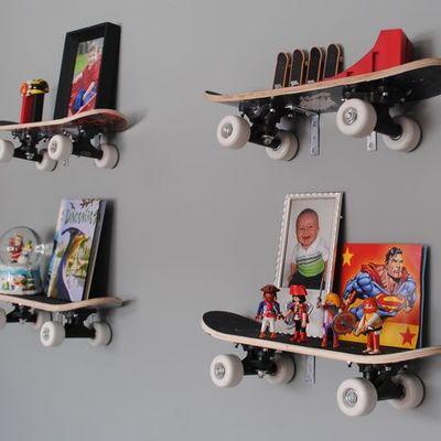 Dalla strada alla casa: lo skateboard diventa arredo