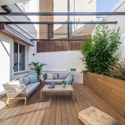 Come posare un pavimento decking nella terrazza