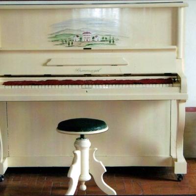 Decorazione pianoforte