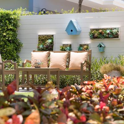 Decorazioni fai da te per giardini e terrazze