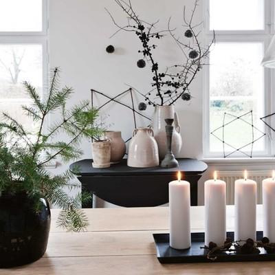 Idee furbe per decorare spazi piccoli per Natale