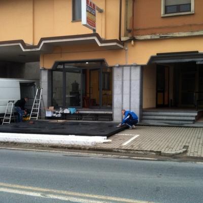 Progetto Installazione Tenda Dehor bar Gattinara