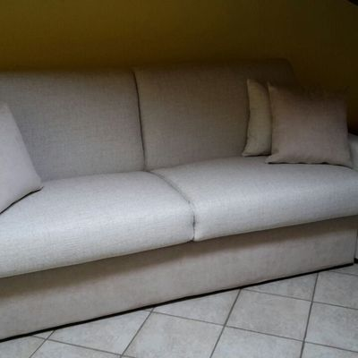 Il nostro divano letto da 18cm di materasso