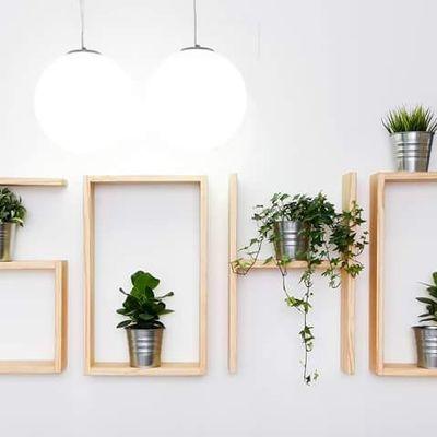 DIY: come costruire espositori per le pareti
