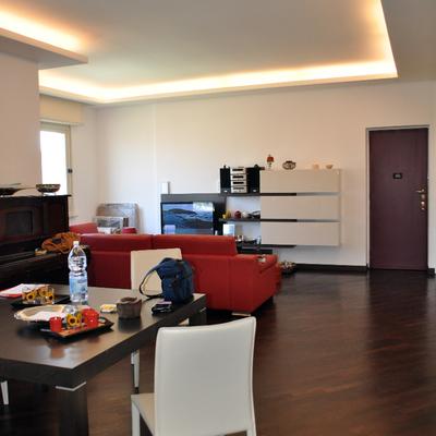 Progetto Ristrutturazione Di Appartamento Moderno Di Edilizia Anni Cinquanta