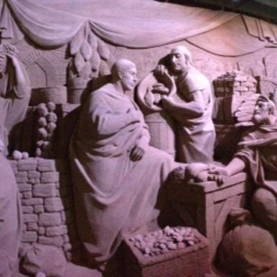 L'Italia dei presepi: stoffe, luci e sculture