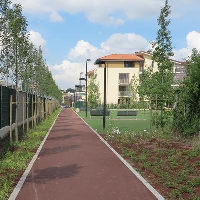 Edificio per abitazioni, Parco pubblico a Cologno Monzese