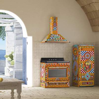 "Elettrodomestici Smeg ""Sicily is my love"""