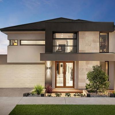 Idee di costruzione case per ispirarti habitissimo for Piani casa moderna collina