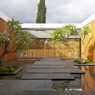 Idee e foto di giardini moderni per ispirarti habitissimo for Giardini moderni design