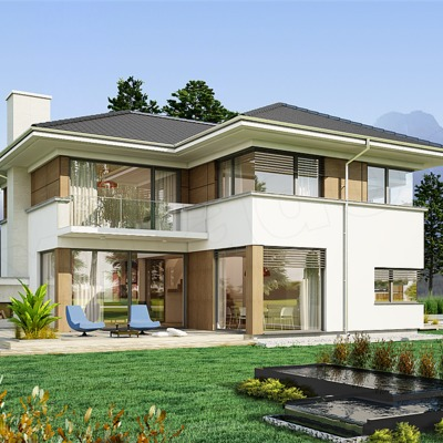 Idee e foto di ristrutturazione facciate per ispirarti for Facciate esterne case moderne