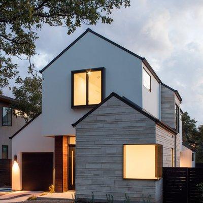 Dipingere esterno casa unifamiliare consigli e costi habitissimo - Facciata esterna casa ...