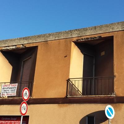 Ristrutturazione facciata piazza Italia Pirri