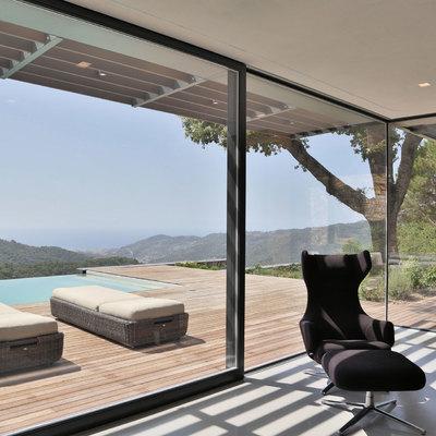 Idee e foto di finestre e porte a milano per ispirarti - Finestre scorrevoli in vetro ...
