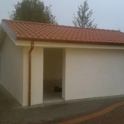 Costruzione garage - Capannori (LU)