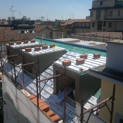 Progetto recupero di sottotetto a Milano (MI)