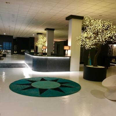 Realizzazione Showroom azienda di tappeti