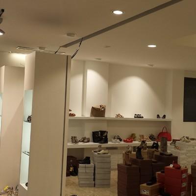 Progetto impianto elettrico/allarme negozio a Modena (MO)