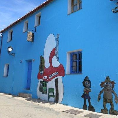 Júzcar: il vero villaggio dei Puffi