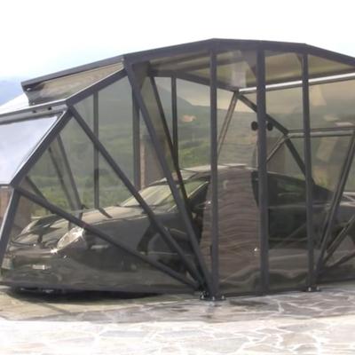 Garage pieghevole per auto e moto, una soluzione alternativa