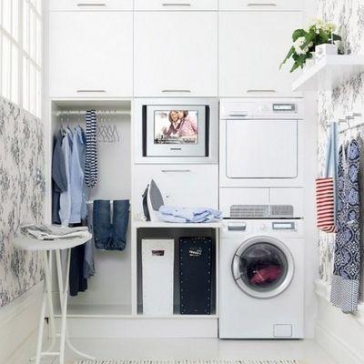 Come creare in casa una zona lavanderia chic e funzionale