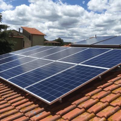 Fotovoltaico con moduli Q-CELLS da 290 wp