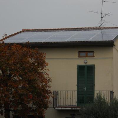 Progetto Impianto fotovoltaico 6,3 KWp a Pistoia (PT)