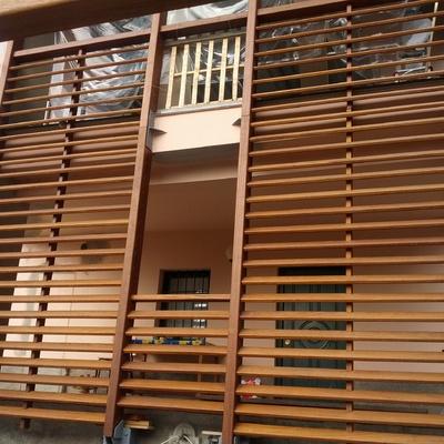 Progetto realizzazioni pavimenti e facciate in legno per esterno