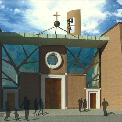 Progetto per nuova chiesa parrocchiale a Monsummano Terme