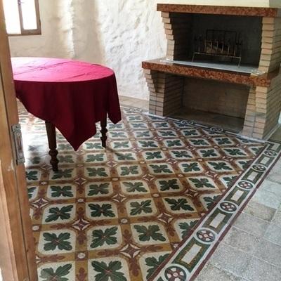 Pavimenti in graniglia antica