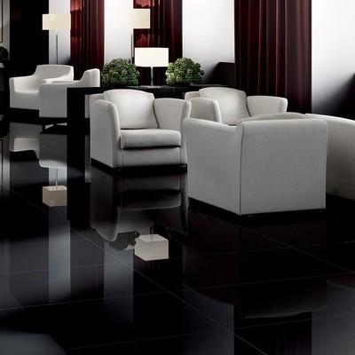 Gres porcellanato effetto marmo extra black