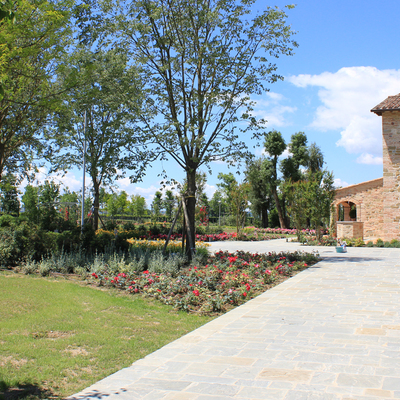 Parco nella campagna umbra