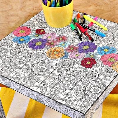10 modi per dare nuova vita a un tavolino Lack di Ikea