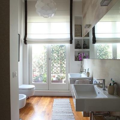 Più bianco non si può: 120 mq di design a Milano