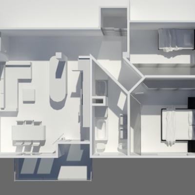 ristrutturazione appartamento anni 60