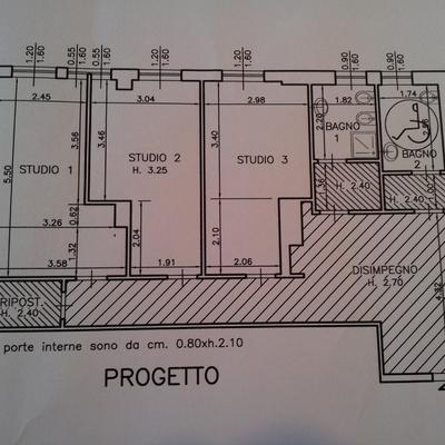 Progetto Studio Medico - lavori in corso a Milano (MI)