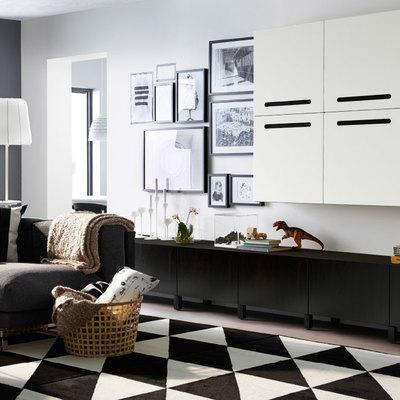 Come arredare casa in bianco e nero