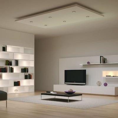 Idee di illuminazione led per ispirarti habitissimo - Luci soggiorno moderno ...