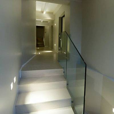 illuminazione led ingresso e scala