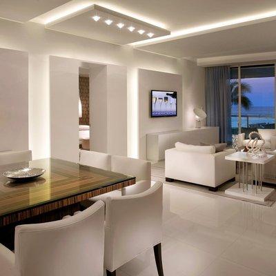 Idee e foto di luci a led per ispirarti habitissimo - Illuminazione per soggiorno ...