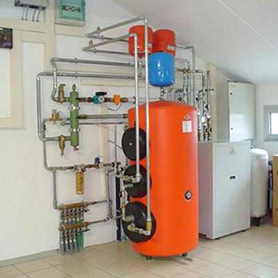 installazione pompe di calore per la produzione di acqua calda sanitaria  e riscaldamento