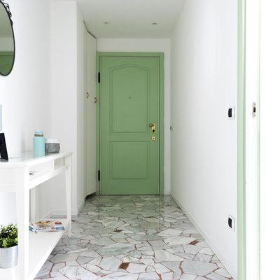 La casa verde: ristrutturazione di un romantico bilocale milanese