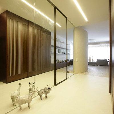 Idee e foto di porte scorrevoli armadi per ispirarti habitissimo - Pareti a specchio ...