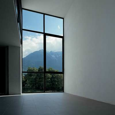 interno - vista alpi