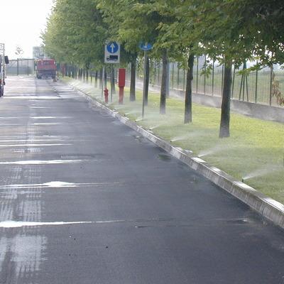 Progetto impianto di irrigazione a Mantova