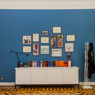 L'ufficio personale dell'avvocato - libreria e archivio