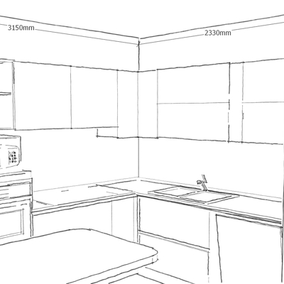 cucina nuova: prima/dopo